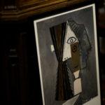 """Pablo Picasso / """"Kvinnohuvud, 1957"""" Tete de femme, 1957 スウェーデン・ストックホルムのMODERNA MUSEETのコレクションのうちのひとつ、ピカソの""""Tête de femme, 1957""""をポスター化したもの パブロピカソ KNAPFORD POSTER MARKET ナップフォードポスターマーケット ART アート ポスター"""