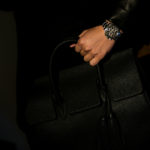 ACATE × cuervo bopoha (アカーテ × クエルボ ヴァローナ) GHIBLI (ギブリ) Montblanc leather (モンブランレザー) トートバッグ レザーバッグ NERO (ネロ) MADE IN ITALY (イタリア製) 2020 AW 【Special Special Special Model】のイメージ