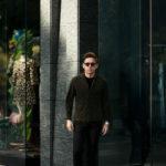 Alfredo Rifugio (アルフレード リフージオ) 20E326HM CAMOSCIO Summer Suede Leather Shirts サマースウェード レザーシャツ OLIVE(オリーブ) made in italy (イタリア製) 2020 春夏新作のイメージ