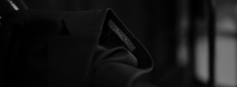 cuervo bopoha(クエルボ ヴァローナ) Sartoria Collection (サルトリア コレクション) Lobb (ロブ) Dominique France ドミニック フランス 3B ジャケット BLACK (ブラック) MADE IN JAPAN (日本製) 2020 【Special Special Special Model】のイメージ
