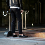 cuervo bopoha (クエルボ ヴァローナ) Sartoria Collection (サルトリア コレクション) Brad (ブラッド) Super 120's WASHABLE TROPICAL WOOL ウォッシャブル ストレッチ トロピカルウール サマーウール スラックス BLACK (ブラック) MADE IN JAPAN (日本製) 2020 春夏新作のイメージ