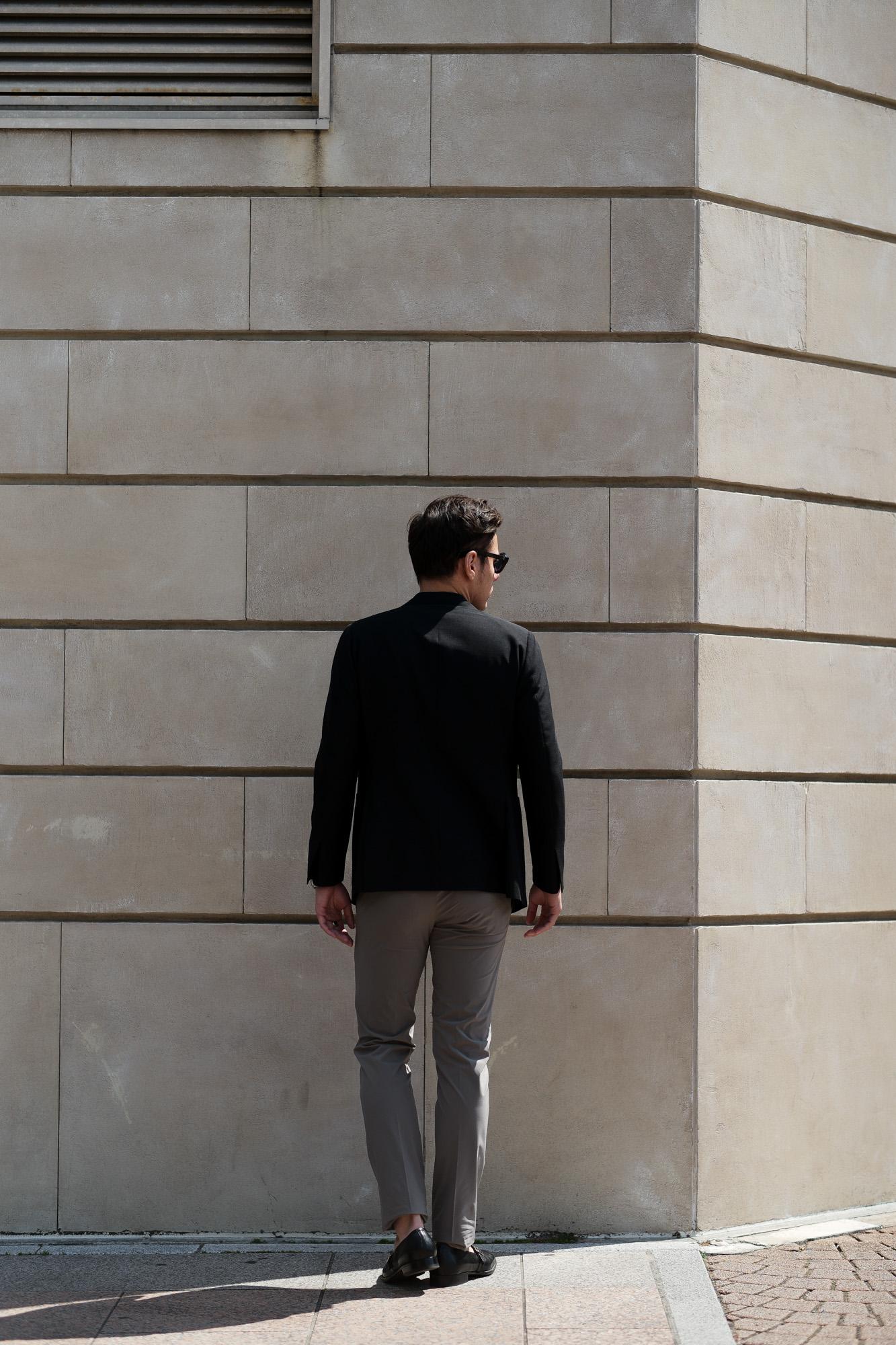 cuervo bopoha (クエルボ ヴァローナ) Sartoria Collection (サルトリア コレクション) Brad (ブラッド) WASHABLE 2WAY SUPER COMFORT NYLON ウォッシャブル ストレッチ ナイロン スラックス GREY (グレー) MADE IN JAPAN (日本製) 2020 春夏新作 愛知 名古屋 altoediritto アルトエデリット