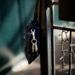 cuervo bopoha(クエルボ ヴァローナ) Satisfaction Leather Collection (サティスファクション レザー コレクション) FLOYD(フロイド) Crocodile Leather(クロコダイルレザー) レザードローストリングバック 巾着 NAVY (ネイビー) Made in Japan(日本製) 2020【Special Model】のイメージ