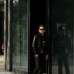 cuervo bopoha (クエルボ ヴァローナ) Satisfaction Leather Collection (サティスファクション レザー コレクション) JACK (ジャック) LAMB LEATHER (ラムスキン) レザージャケット BLACK (ブラック) MADE IN JAPAN (日本製) 2020 春夏新作 【Special Model】のイメージ