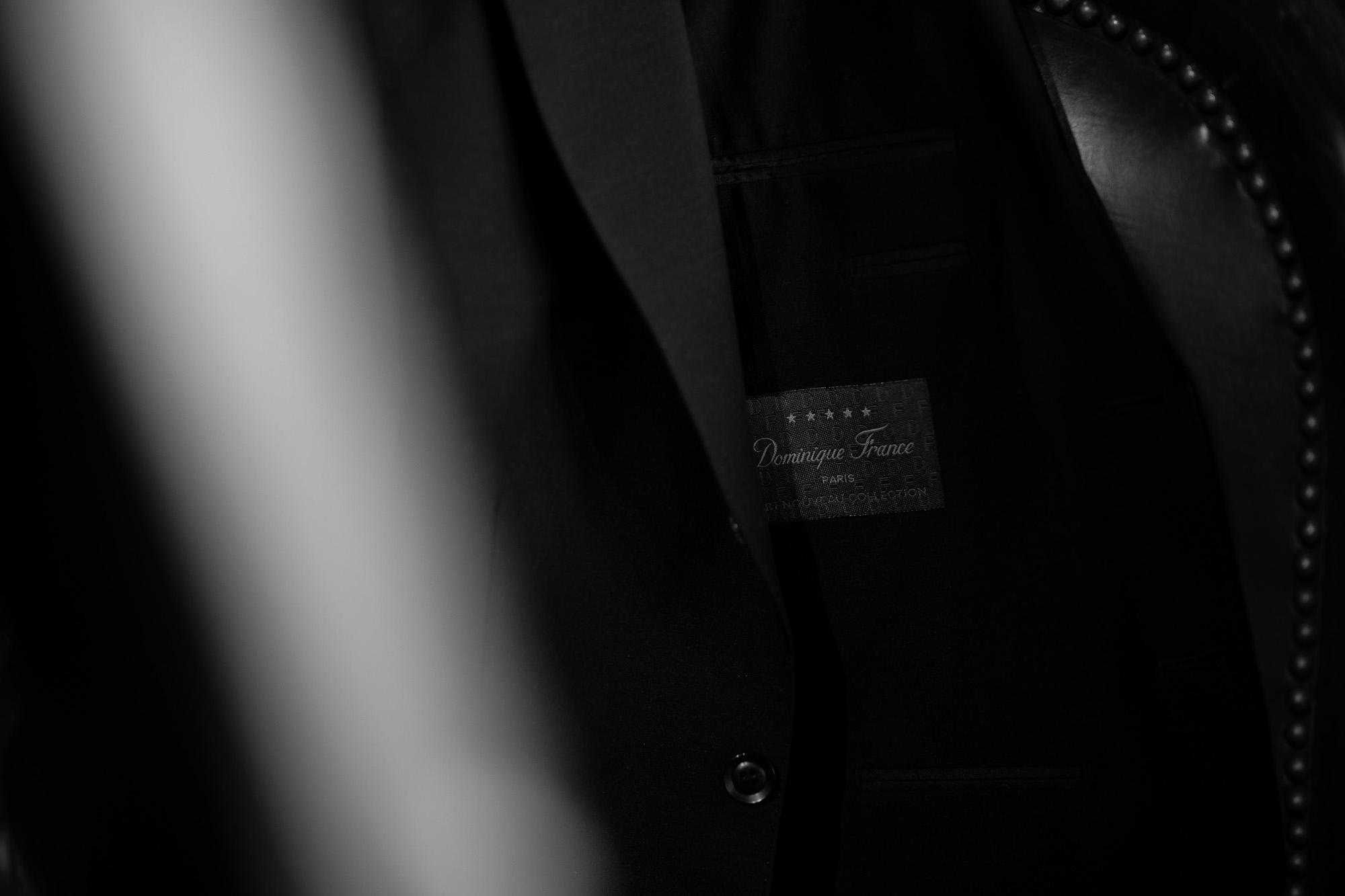 cuervo bopoha (クエルボ ヴァローナ) Sartoria Collection (サルトリア コレクション) Lobb (ロブ) Dominique France (ドミニック フランス) CALEDONIAN FEATHER (カレドニアン フェザー) EXCELLENT WOOL × KID MOHAIR ウールモヘア シャリック サマージャケット BLACK (ブラック) MADE IN JAPAN (日本製) 2020 【Special Special Special Model】 ドミニックフランス ドミニクフランス ジャケット 超絶ブランド ドミニクフランス ネクタイ 高級 フランス 愛知 名古屋 altoediritto アルトエデリット
