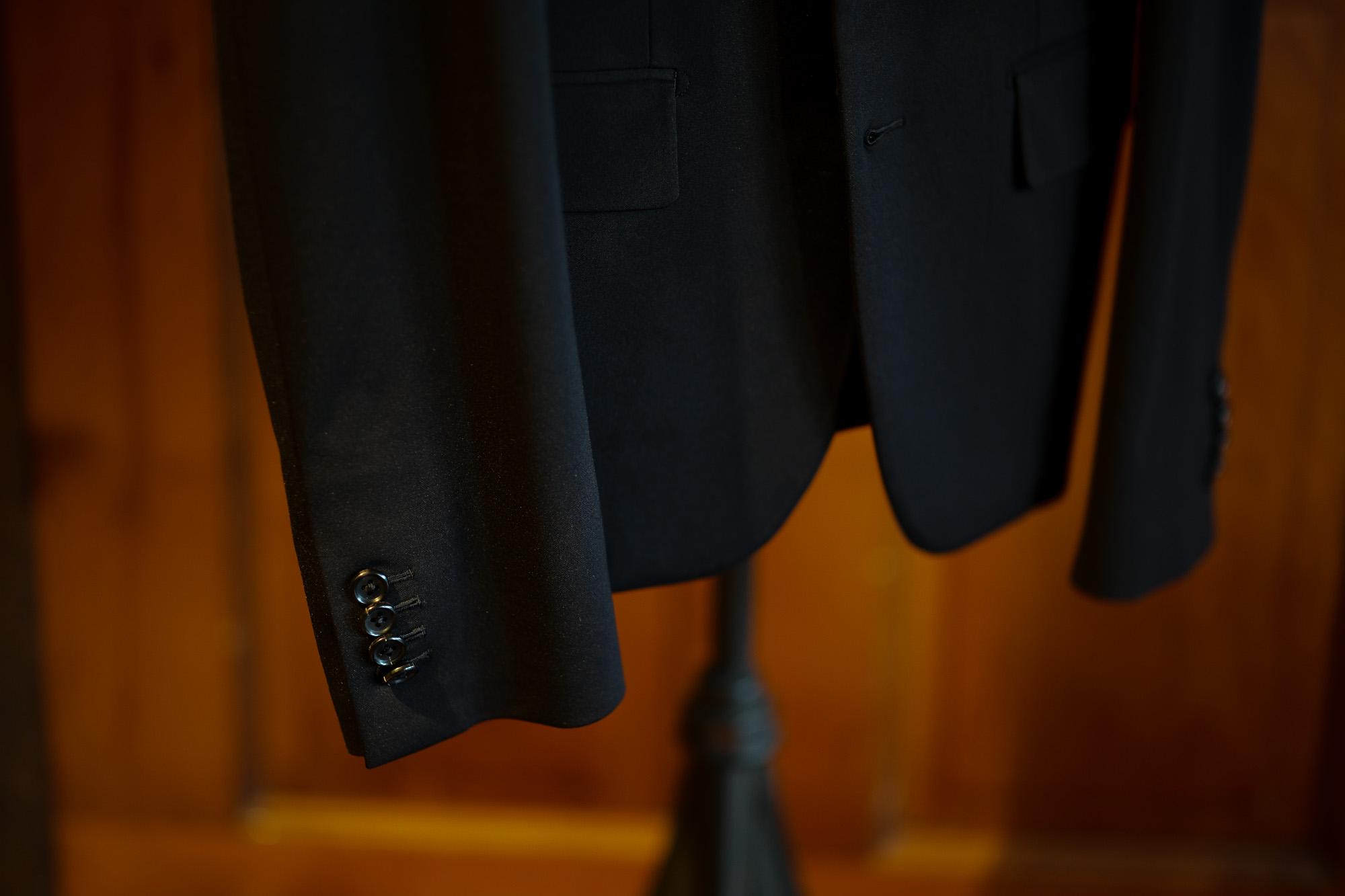 cuervo bopoha(クエルボ ヴァローナ) Sartoria Collection (サルトリア コレクション) Rooster (ルースター) Jersey ジャージー スーツ BLACK (ブラック) MADE IN JAPAN (日本製) 2020 【オーダー分入荷】Jersey ジャージー オーダースーツ 愛知 名古屋 altoediritto アルトエデリット