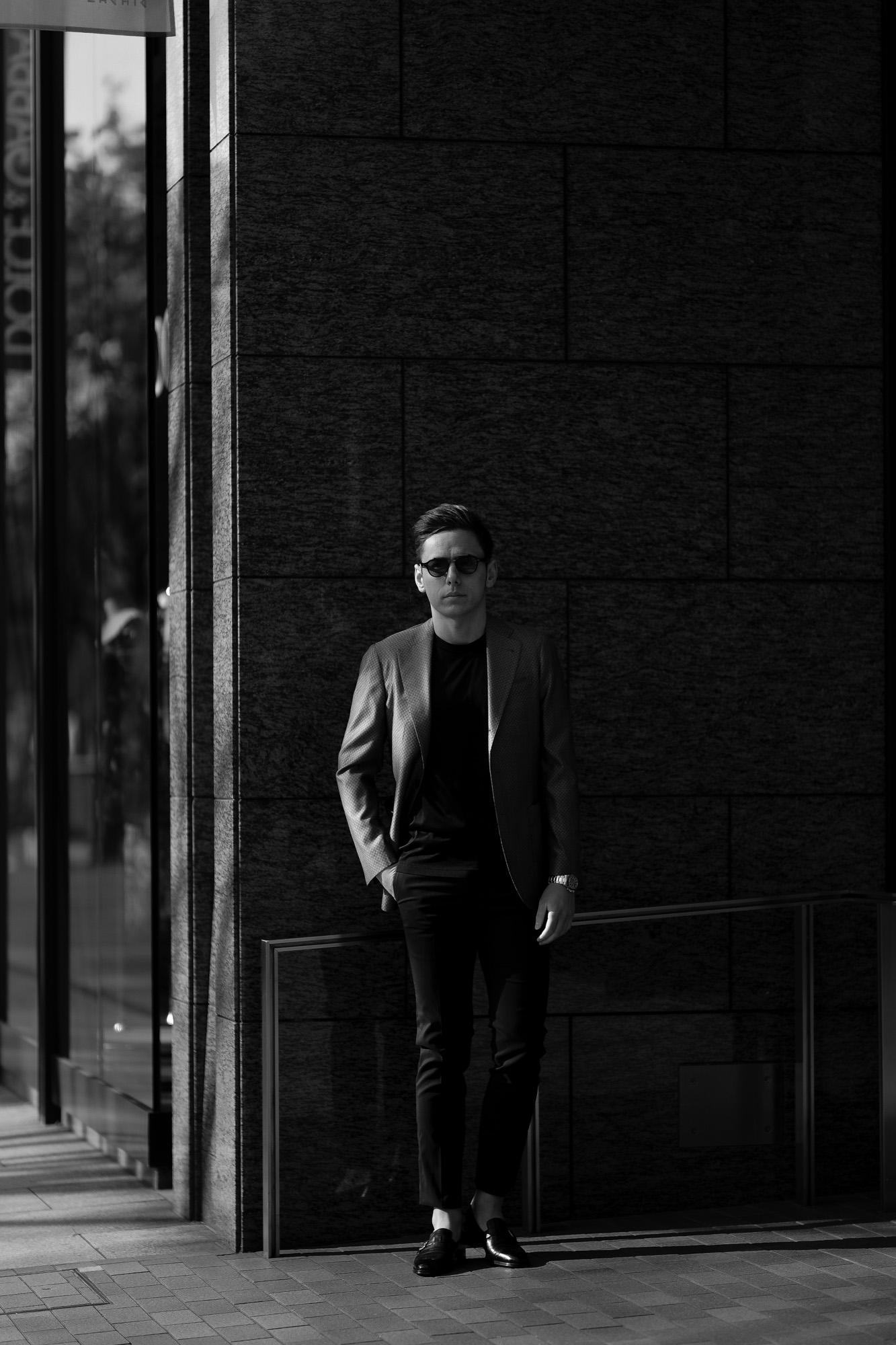 cuervo bopoha (クエルボ ヴァローナ) Sartoria Collection (サルトリア コレクション) Lobb (ロブ) Dominique France (ドミニック フランス) LORRAINE NANCY III (ロレーヌナンシー トロワ) EXCELLENT WOOL × SILK ウールシルク サマージャケット GRAY (グレー) MADE IN JAPAN (日本製) 2020 【Special Special Special Model】ドミニックフランス ドミニクフランス ジャケット 超絶ブランド ドミニクフランス ネクタイ 高級 フランス 愛知 名古屋 altoediritto アルトエデリット
