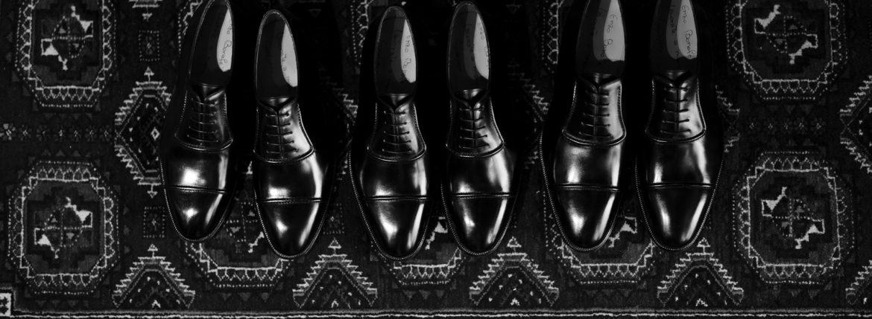 ENZO BONAFE (エンツォボナフェ) ART.3998 mod Straight Tip Shoes Du Puy Vitello デュプイ社ボックスカーフ ストレートチップシューズ NERO (ブラック) made in italy (イタリア製) 2020 春夏新作 【Special Model】【Alto e Diritto 別注】 愛知 名古屋 enzobonafe エンツォボナフェ