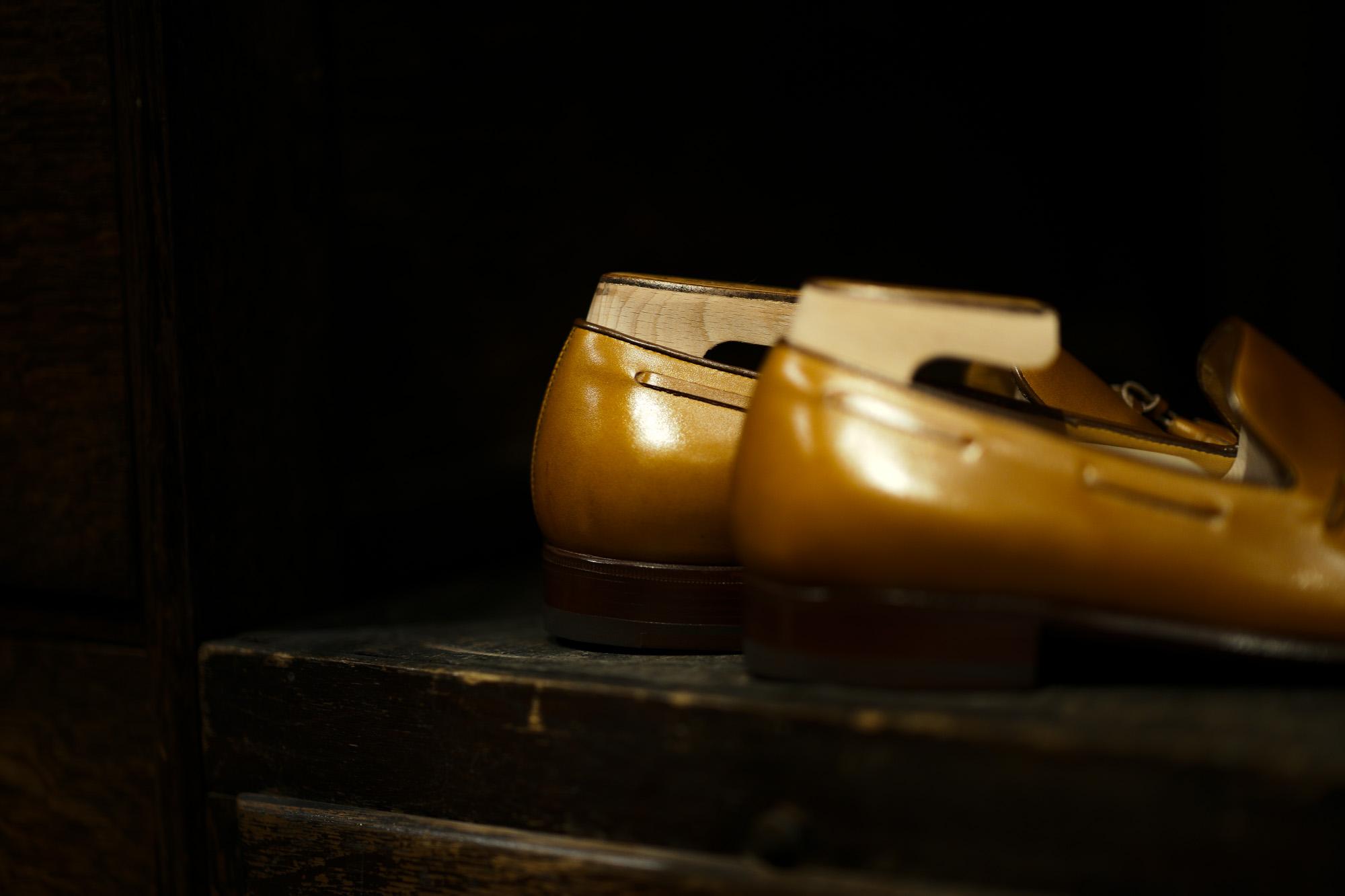 ENZO BONAFE(エンツォボナフェ) ART. EB-41 Tassel Loafer タッセルローファー Du Puy Vitello デュプイ社 ボックスカーフ ドレスシューズ ローファー ELISE(タン) made in italy (イタリア製) 2020