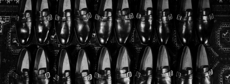 ENZO BONAFE(エンツォボナフェ) ART. EB-44 SLIP ON スリッポン LAMA ラマレザー ドレスシューズ スリッポン NERO(ブラック) made in italy (イタリア製) 2020 春夏新作 【入荷しました】【フリー分発売開始】のイメージ