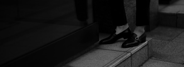 ENZO BONAFE(エンツォボナフェ) ART. EB-44 SLIP ON スリッポン LAMA ラマレザー ドレスシューズ スリッポン NERO(ブラック) made in italy (イタリア製) 2020 春夏新作のイメージ