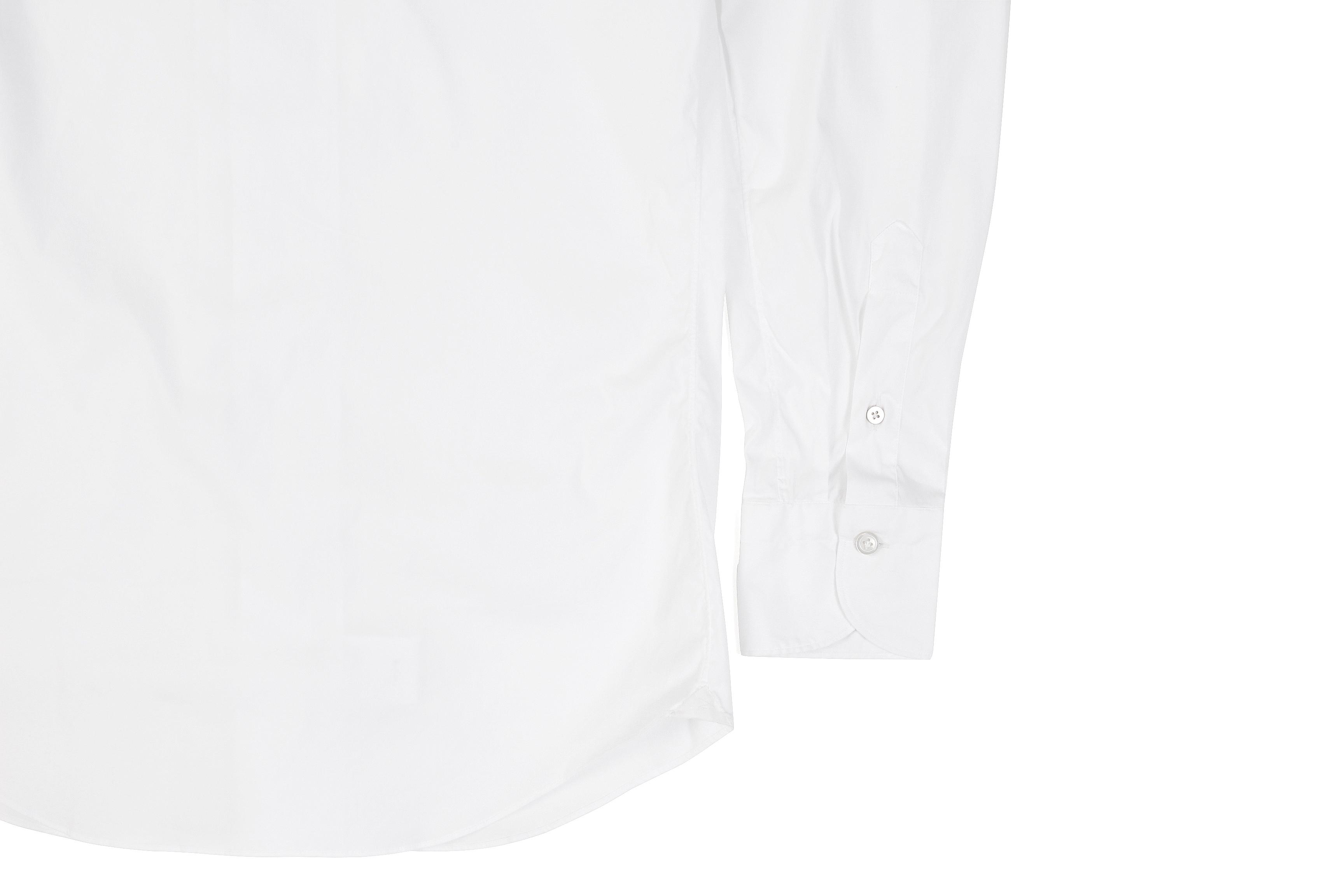 Finamore (フィナモレ) SEUL ITALIAN COLOR STRETCH COTTON SHIRTS ストレッチコットン ワンピースカラー シャツ WHITE (ホワイト・01) made in italy (イタリア製) 2020 春夏新作 愛知 名古屋 altoediritto アルトエデリット シャツ