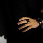 """FIXER(フィクサー) BLACK PANTHER RING """"RUBY"""" BLACK RHODIUM(ブラック ロジウム) ブラック パンサーリング ルビー BLACK(ブラック) 【ご予約受付中】【2020.12.18(Fri)~2020.12.26(Sat)】のイメージ"""