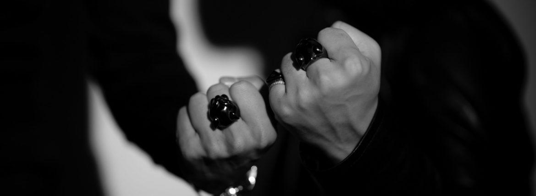 """FIXER(フィクサー) BLACK PANTHER RING """"RUBY"""" BLACK RHODIUM(ブラック ロジウム) ブラック パンサーリング ルビー BLACK(ブラック) 2020 【ご予約受付中】【2020.4.11(Sat)~2020.5.03(Sun)】のイメージ"""