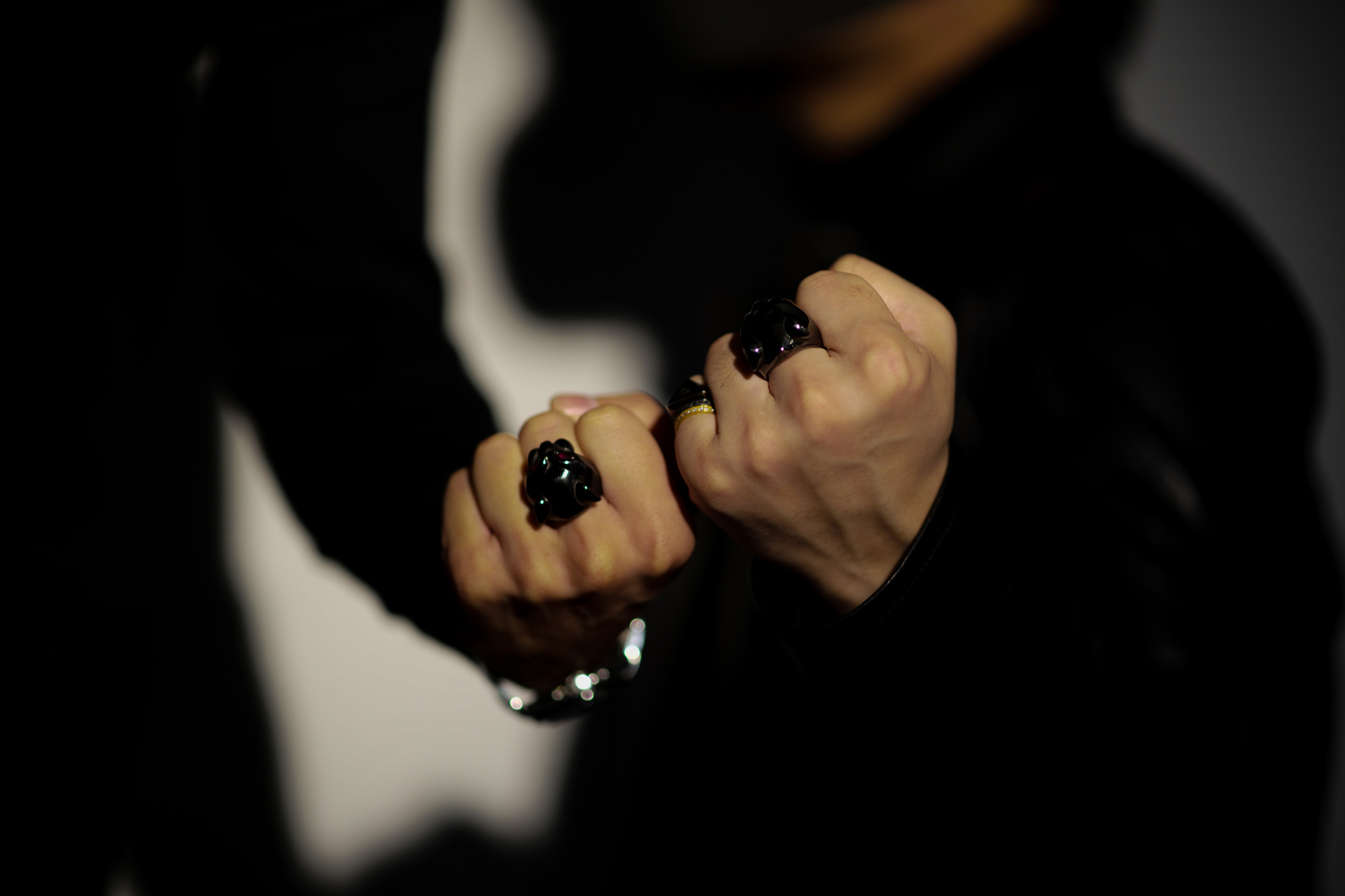 "FIXER(フィクサー) BLACK PANTHER RING ""RUBY"" BLACK RHODIUM(ブラック ロジウム) ブラック パンサーリング ルビー BLACK(ブラック) 2020 【ご予約受付中】【2020.4.11(Sat)~2020.5.03(Sun)】愛知 名古屋 altoediritto アルトエデリット イルミナティリング コーティング"
