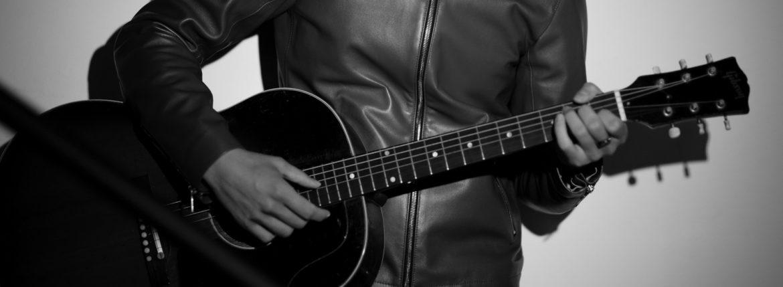 Georges de Patricia (ジョルジュ ド パトリシア) Carrera (カレラ) 925 STERLING SILVER (925 スターリングシルバー) Super Soft Lambskin Leather (スーパー ソフト ラムスキン レザー) シングルライダースジャケット ORANGE (オレンジ) 2020のイメージ
