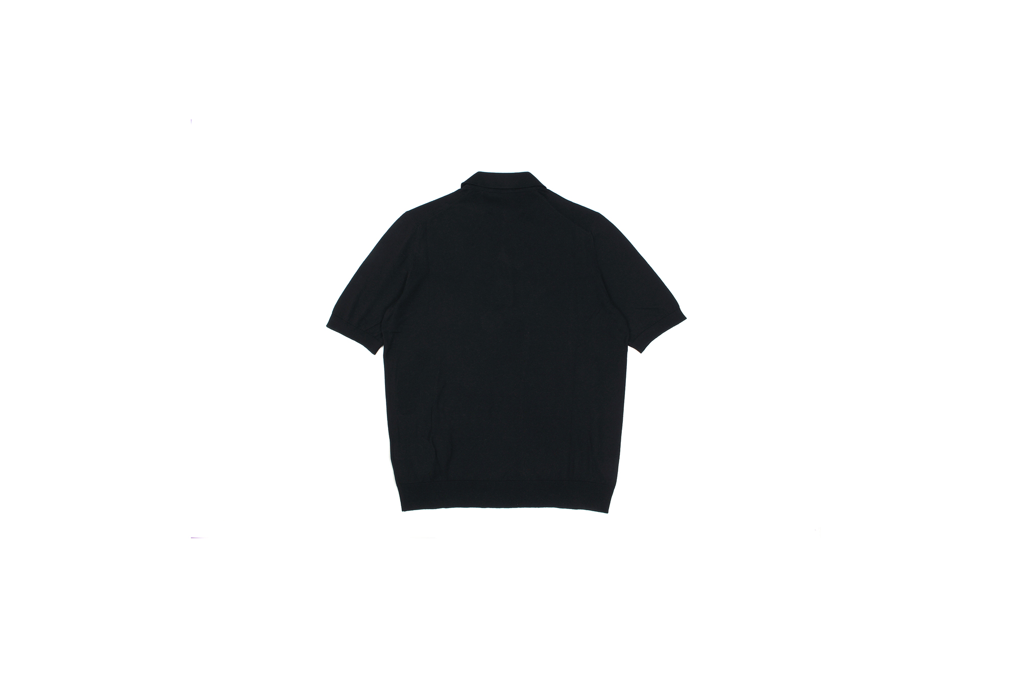 Gran Sasso (グランサッソ) Silk Knit Polo Shirt (シルクニットポロシャツ) SETA (シルク 100%) シルク ニット ポロシャツ BLACK (ブラック・099) made in italy (イタリア製) 2020 春夏新作 【入荷しました】【フリー分発売開始】 愛知 名古屋 altoediritto アルトエデリット