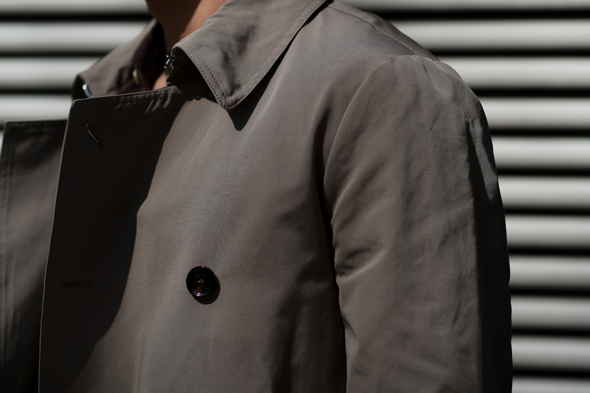 MOORER(ムーレー) MELFI-WM (メルフィ) コットンポリエステルギャバジン ダブルブレストトレンチコート STONE(ストーン) Made in italy (イタリア製) 2020 春夏新作 愛知 名古屋 altoediritto アルトエデリット