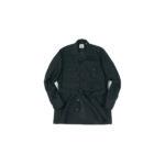 ORIAN (オリアン) LARMY リネンコットン サファリ ジャケット BLACK (ブラック・90) Made in italy (イタリア製) 2020 春夏新作 【入荷しました】【フリー分発売開始】のイメージ