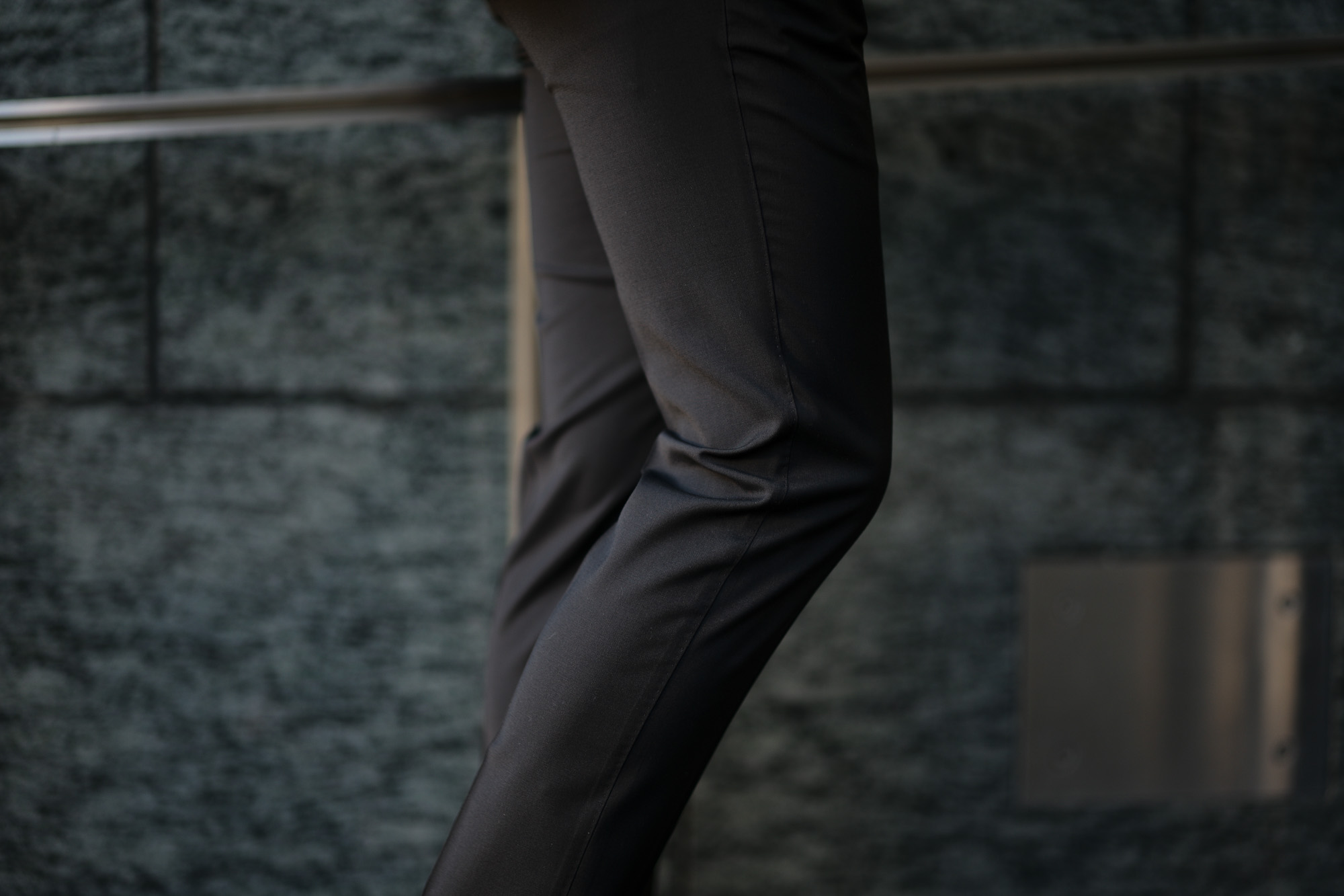 PT TORINO(ピーティートリノ) TRAVELLER (トラベラー) SUPER SLIM FIT (スーパースリムフィット) WASHABLE TECHNO WOOL ストレッチ ウォッシャブル トロピカル サマーウール スラックス BLACK (ブラック・0990) 2020 春夏新作 愛知 名古屋 altoediritto アルトエデリット