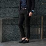PT TORINO(ピーティートリノ) TRAVELLER (トラベラー) SUPER SLIM FIT (スーパースリムフィット) WASHABLE TECHNO WOOL ストレッチ ウォッシャブル トロピカル サマーウール スラックス BLACK (ブラック・0990) 2020 春夏新作のイメージ