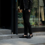 RICHARD J.BROWN(リチャードジェイブラウン) SINGAPORE (シンガポール) ストレッチ リヨセル パンツ BLACK (ブラック・T166 999) MADE IN ITALY (イタリア製) 2020 春夏新作のイメージ