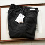 RICHARD J.BROWN(リチャードジェイブラウン) SINGAPORE (シンガポール) ストレッチ リヨセル パンツ BLACK (ブラック・T166 999) MADE IN ITALY (イタリア製) 2020 春夏新作 【入荷しました】【フリー分発売開始】のイメージ