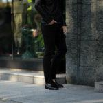 RICHARD J.BROWN(リチャードジェイブラウン) TOKIO (トウキョウ) ストレッチ リヨセル パンツ BLACK (ブラック・T166 999) MADE IN ITALY (イタリア製) 2020 春夏新作のイメージ
