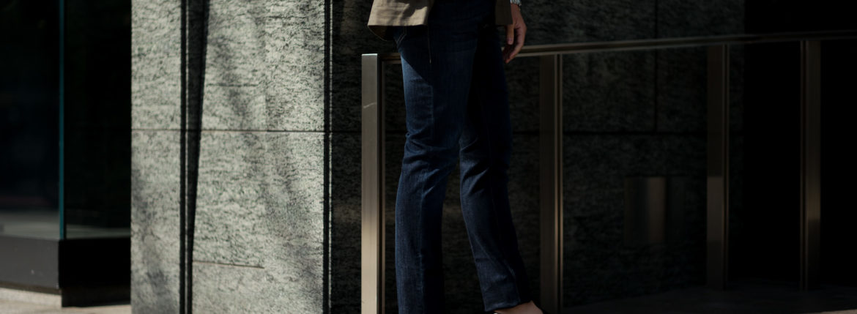 RICHARD J.BROWN(リチャードジェイブラウン) TOKYO(トウキョウ) T41 W209 CF BGG ストレッチ デニム パンツ   BLUE(ブルー) MADE IN ITALY (イタリア製)  2020春夏新作のイメージ