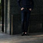 RICHARD J.BROWN(リチャードジェイブラウン) TOKYO(トウキョウ) T84 W248 CR BGI ストレッチ デニム パンツ INDIGO(インディゴ) MADE IN ITALY (イタリア製) 2020春夏新作 richardjbrown altoediritto アルトエデリット デニムパンツ ジーンズ