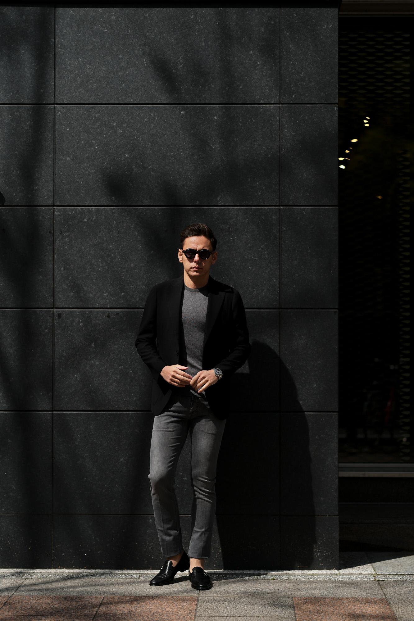 RICHARD J.BROWN(リチャードジェイブラウン) TOKYO(トウキョウ) T81 W214 CM BGA ストレッチ デニムパンツ   GRAY(グレー) MADE IN ITALY (イタリア製)  2020春夏新作 richardjbrown altoediritto アルトエデリット デニムパンツ ジーンズ