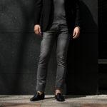 RICHARD J.BROWN(リチャードジェイブラウン) TOKYO(トウキョウ) T81 W214 CM BGA ストレッチ デニムパンツ   GRAY(グレー) MADE IN ITALY (イタリア製)  2020春夏新作のイメージ