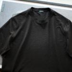 ZANONE(ザノーネ) Crew Neck T-shirt (クルーネックTシャツ) ice cotton アイスコットン Tシャツ BLACK (ブラック・Z0015) MADE IN ITALY(イタリア製) 2020 春夏新作のイメージ