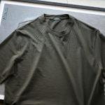 ZANONE(ザノーネ) Crew Neck T-shirt (クルーネックTシャツ) ice cotton アイスコットン Tシャツ OLIVE (オリーブ・Z0049) MADE IN ITALY(イタリア製) 2020 春夏新作のイメージ