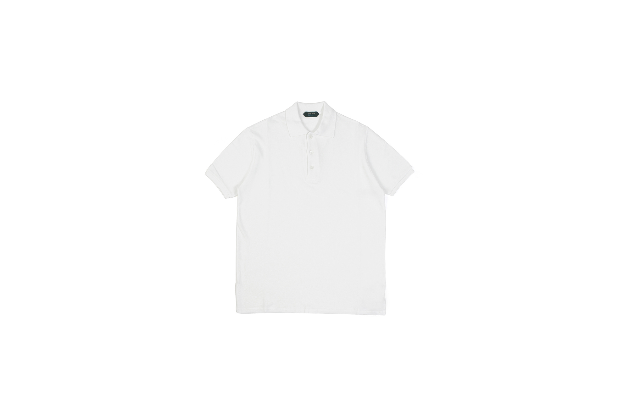 ZANONE(ザノーネ) Pique Polo Shirt ice cotton アイスコットン ピケポロシャツ WHITE (ホワイト・Z0001) made in italy (イタリア製) 2020 春夏新作 愛知 名古屋 altoediritto アルトエデリット ポロシャツ