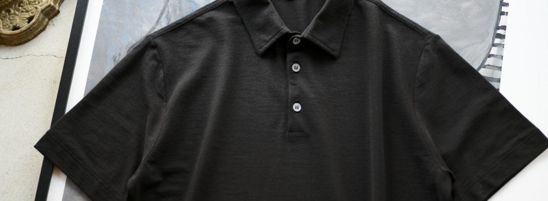 ZANONE(ザノーネ) Polo Shirt ice cotton アイスコットン ポロシャツ BLACK (ブラック・Z0015) made in italy (イタリア製) 2020春夏新作のイメージ