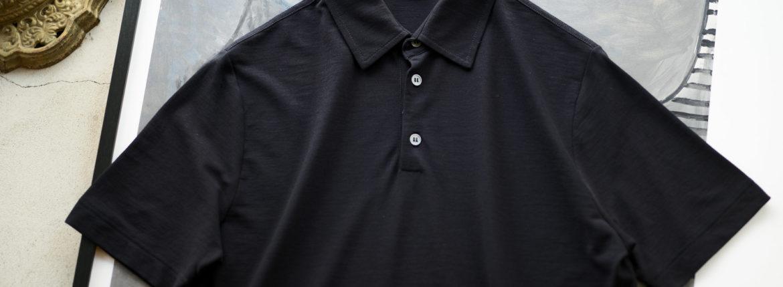 ZANONE(ザノーネ) Polo Shirt ice cotton アイスコットン ポロシャツ NAVY (ネイビー・Z0542) made in italy (イタリア製) 2020春夏新作のイメージ