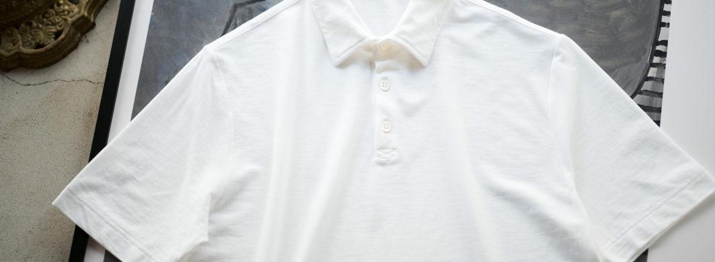 ZANONE(ザノーネ) Polo Shirt ice cotton アイスコットン ポロシャツ WHITE (ホワイト・Z0001) made in italy (イタリア製) 2020春夏新作のイメージ