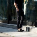 cuervo bopoha (クエルボ ヴァローナ) Sartoria Collection (サルトリア コレクション) Brad (ブラッド) WASHABLE 2WAY SUPER COMFORT NYLON ウォッシャブル ストレッチ ナイロン スラックス BLACK (ブラック) MADE IN JAPAN (日本製) 2020 春夏新作のイメージ
