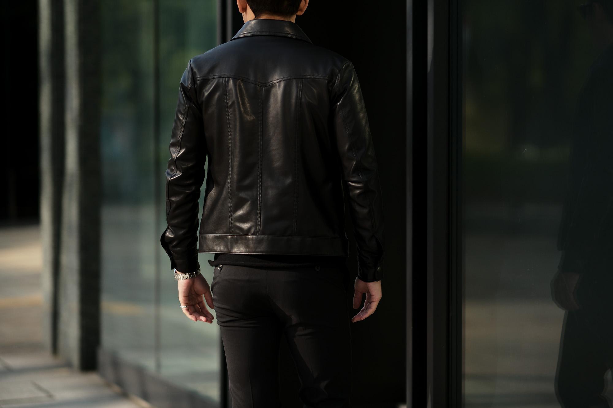 cuervo bopoha (クエルボ ヴァローナ) Satisfaction Leather Collection (サティスファクション レザー コレクション) JACK (ジャック) LAMB LEATHER (ラムスキン) レザージャケット BLACK (ブラック) MADE IN JAPAN (日本製) 2020 春夏新作 【Special Model】愛知 名古屋 altoediritto アルトエデリット