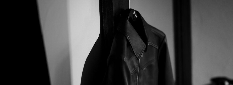cuervo bopoha(クエルボ ヴァローナ) Satisfaction Leather Collection (サティスファクション レザー コレクション) JACK (ジャック) LAMB LEATHER (ラムレザー) シングル レザー ジャケット VIOLET BLUE (ヴァイオレットブルー) MADE IN JAPAN (日本製) 2020 秋冬 【Special Model】のイメージ