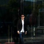 cuervo bopoha (クエルボ ヴァローナ) Sartoria Collection (サルトリア コレクション) Lobb (ロブ) Dominique France (ドミニック フランス) CALEDONIAN FEATHER (カレドニアン フェザー) EXCELLENT WOOL × KID MOHAIR ウールモヘア シャリック サマージャケット BLACK (ブラック) MADE IN JAPAN (日本製) 2020 【Special Special Special Model】【ご予約受付中】のイメージ