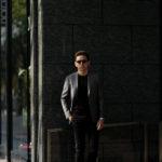 cuervo bopoha (クエルボ ヴァローナ) Sartoria Collection (サルトリア コレクション) Lobb (ロブ) Dominique France (ドミニック フランス) LORRAINE NANCY III (ロレーヌナンシー トロワ) EXCELLENT WOOL × SILK ウールシルク サマージャケット GRAY (グレー) MADE IN JAPAN (日本製) 2020 【Special Special Special Model】【ご予約開始】のイメージ