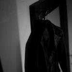 "cuervo bopoha // ""Vincent"" Buffalo Leather Black 2020AW クエルボ ヴァローナ Vincent ヴィンセント BUFFALO LEATHER バッファロー レザー レザー Pコート 愛知 名古屋 altoediritto アルトエデリット"