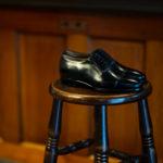 ENZO BONAFE (エンツォボナフェ) ART.3998 mod Straight Tip Shoes Du Puy Vitello デュプイ社ボックスカーフ ストレートチップシューズ NERO (ブラック) made in italy (イタリア製) 2020 春夏新作 【Special Model】【Alto e Diritto 別注】のイメージ