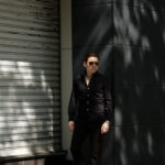 Finamore (フィナモレ) SEUL ITALIAN COLOR STRETCH COTTON SHIRTS ストレッチコットン ワンピースカラー シャツ BLACK (ブラック) made in italy (イタリア製) 2020 春夏新作のイメージ