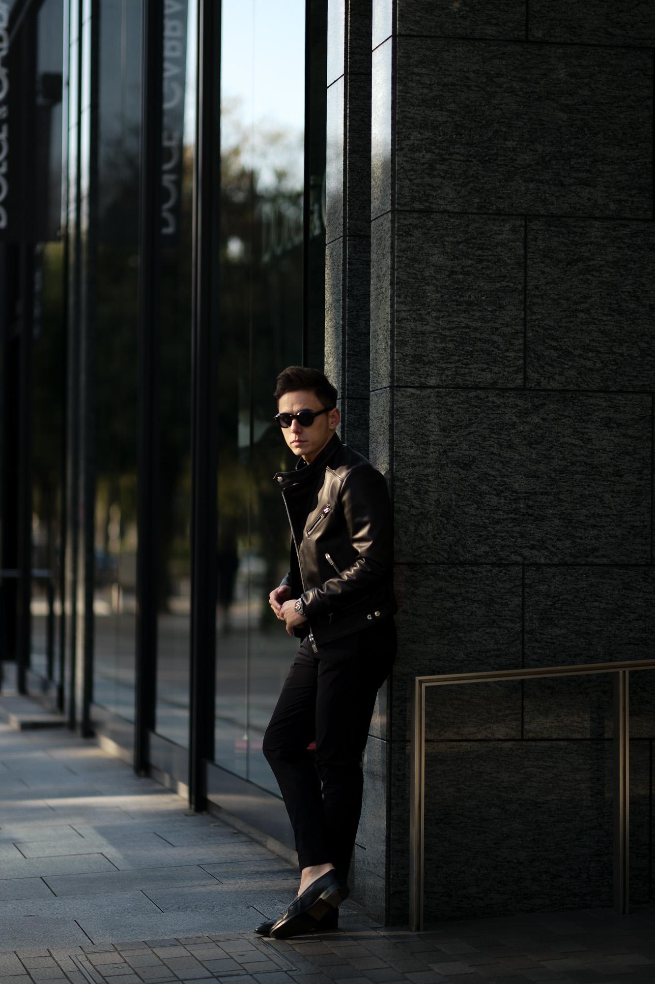 FIXER(フィクサー) F1(エフワン) DOUBLE RIDERS Cow Leather ダブルライダース ジャケット BLACK(ブラック) 【ご予約受付中】【2020.4.19(Sun)~2020.5.10(Sun)】愛知 名古屋 altoediritto アルトエデリット