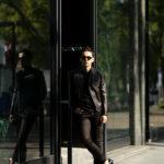 FIXER(フィクサー) F1(エフワン) DOUBLE RIDERS Cow Leather ダブルライダース ジャケット BLACK(ブラック) 【ご予約開始します】【2020.5.24(Sun)~2020.6.14(Sun)】愛知 名古屋 altoediritto アルトエデリット ライダースコーデ レザージャケット レザーコーデ