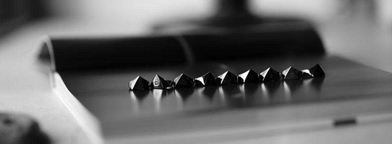 FIXER(フィクサー) ILLUMINATI EYES RING BLACK RHODIUM(ブラック ロジウム) イルミナティ アイズリング BLACK(ブラック) 2020のイメージ