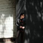 Georges de Patricia (ジョルジュ ド パトリシア) Carrera (カレラ) 925 STERLING SILVER (925 スターリングシルバー) Super Soft Sheepskin シングル ライダース ジャケット NOIR (ブラック) 2020 春夏新作 georgesdepatricia ジョルジュドパトリシア カレラ ポルシェ 愛知 alto e diritto アルトエデリット altoediritto
